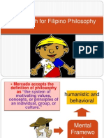 The Search for Filipino Philosophy