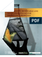 Alternative, Renewable and Novel Feedstocks for Producing Chemicals