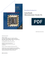 Chapter 1 of microelectronic circuit and devices by Sedra and Smith