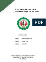 Promosi K3 Di PT IPPI