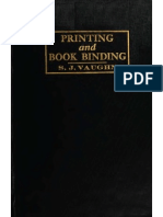 Printing and bookbinding for schools