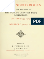 Two hundred books from the libraries of the world's greatest book colectors