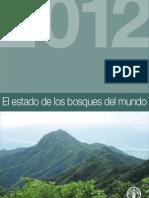 El estado de los bosques del mundo FAO 2012