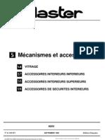 MASTER - Mécanismes et Accessoires 2