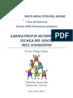 Tesina Lab.Metod.GIOCO&ANIMAZIONE
