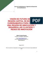 Visión de futuro de Bogotá Región Capital como un territorio de la innovación con equidad