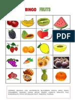 Bingo Fruits