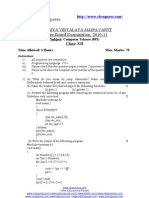 180953rd Pre Board Paper Computer Sc. 2010-11 (1) (1)