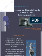 Diagnostico de Fallas en Transformadores