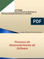 EngSW - Aula 01 - ProcessoDesenvolvimentoSW