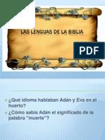 3. Lenguaje de La Biblia Pr. Eufracio Q. 5 Feb