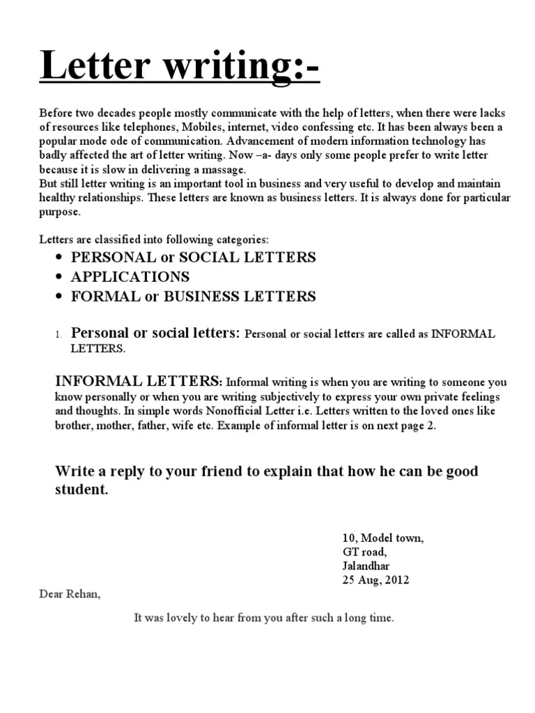 Letter writing sales business spiritdancerdesigns Image collections