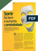 Sorrir faz bem e aumenta a produtividade - Fitness Business