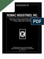 2007 Romac Catalog