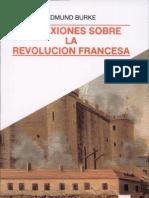 Edmund Burke - Reflexiones sobre la revolución francesa -INCOMPLETO-