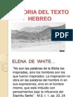 4. Hist.del Texto Hebreo Pr Marquez 6 Feb