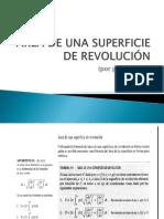 ÁREA DE UNA SUPERFICIE DE REVOLUCIÓN.pptx