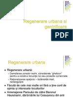 Regenerare Urbana Si Gentrificare
