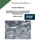1_memoria Descriptiva Drenaje de La Av. Vice_febrero 2013