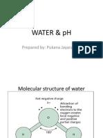WATER & pH