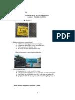 Soal bahasa Inggris SMP kelas 9.pdf Paket 1