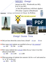 Topic 1 Earth Energy