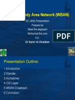 Wireless Body Area Network (WBAN)