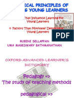 Pedagogical Principles of Teaching Young Learners