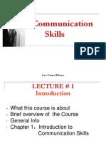 Communication Skills Lec 1