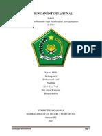 Hubungan Internasional Dan Organisasi Internasional