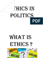 Ethics in Politics