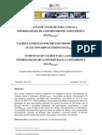 Articulo 7 Evidências de validade da escala informatizada eSATSportuguês claudette