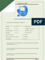 SAP Calculos Aritmeticos en ABAP