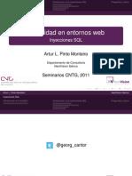 Exitoso Seminario de NextVision Sobre SQL Injection en El Centro de Nuevas Tecnologas de Galicia 1