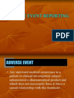 Adverse Event Reporting by Nicky