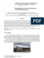 FINAL-Arch Steel Building Optimization Used in Civil Engineering,By Finite Element Method