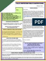 Newsletter 130207