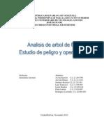 Analisis de Arbol de Falla