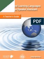 Native Speaker Assistant - Teachers Guide