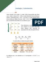 Termologia  - Calorimetria