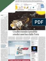 Alla Ricerca Di Altri Pianeti Abitabili Con La Sonda Keplero - La Repubblica 07.02.2013