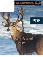 SouthPaw Outfitters Hunters Journal 2012
