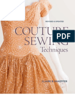 Couture Sewing Techniques - Claire Shaeffer