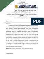 Articulo 5 Entrenamiento Musical Ravelo