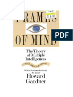 68879364 Frames of Mind the Theory of Multiple Intelligences