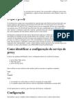 Configurando Proxy No Shell