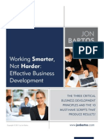 White Paper-Working Smarter-Effective Business Development (2)
