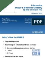 Boston IUG Metadata Manager_100912