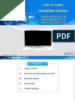 SAMSUNG   LCD  Tecnología 3D   - Mod  UN65C8000XFXZA