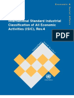 ISIC Rev.4 International Standard Industrial Classification of All Economic Activities, Rev.4 - English